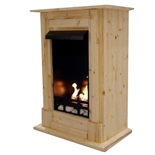 Gel + Ethanol Fireplace Madrid Deluxe - Choose from 9 colors (Nature)
