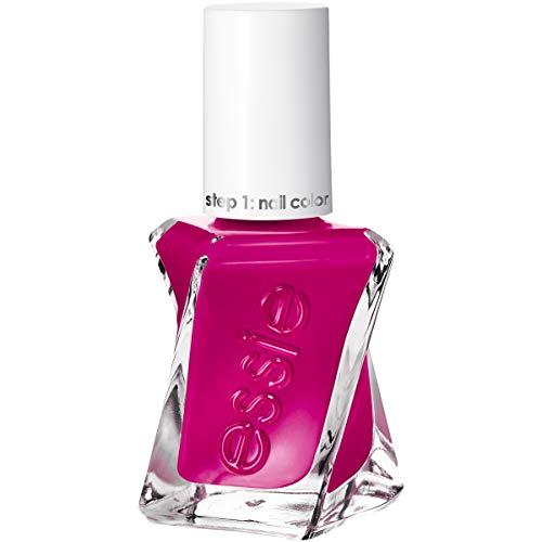 essie Gel Couture 2-Step Longwear Nail Polish, Vi Please, Red Nail Polish, 0.46 fl. oz.