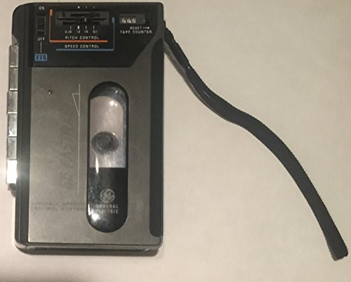 General Electric GE Fastrac Model 3-5324A Cassette Tape Recorder/Playback with VVA (Variable Voice Activation)