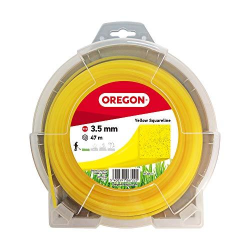 OREGON 69-426-Y Filo per decespugliatore quadrato giallo 3,5 mm x 35 m, 3.5mm x 35m