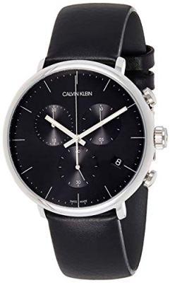 Calvin Klein High Noon Chronograph Quartz Black Dial Men's Watch K8M271C1
