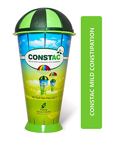 Constac® for Relief in Mild Constipation - Mild, Safe, Clinically Proven Ayurvedic Granules 100g