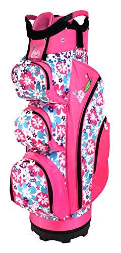 Birdie Babe Flower Power Pink Womens Golf Cart Bag