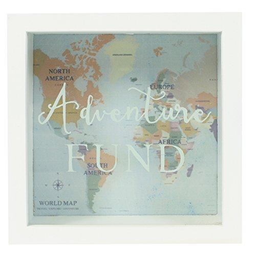 Jones Home and Gift Tirelire en Forme de Cadre Adventures Fund, Couleur...