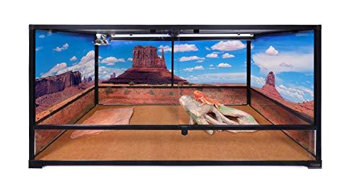 Carolina Custom Cages Terrarium, Tall Extra-Long Deep 48Lx24Dx24H,...
