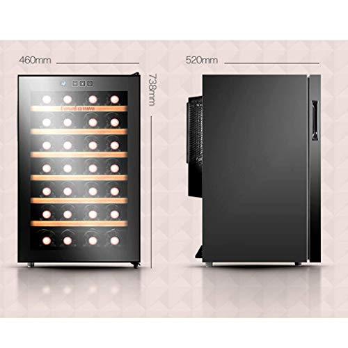 M@ZBY 28 Refrigeratore elettrico/Bottiglia per refrigeratore - Cantinetta per temperatura e umidit...