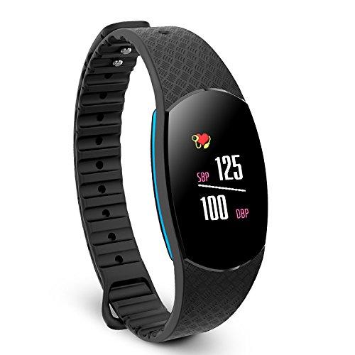 Paick Fitness Tracker, Heart Rate Monitor Blood Pressure Monitor, Smart Watch, Pedometer, Activity Tracker Smart Wristband