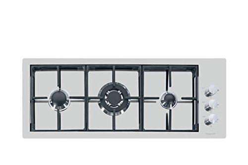 Foster S4000 Piano Cottura, Metallo, Argento Spazzolato, 92.5x36.8x18 cm
