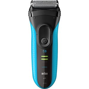Braun Electric Razor for Men, Series 3 3040s Electric Shaver with Precision Trimmer, Rechargeable,...