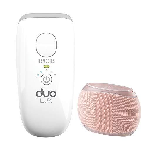 Homedics Duo Lux Dispositivo Epilazione a Luce Pulsata IPL, Rimozione Peli Viso e Corpo con Doppia...