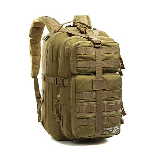 LeisonTac Tactical Backpack with Quick Release system Military standard 500D Nylon(Coyote)