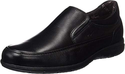 Fluchos- retail ES Spain 8499, Zapatos sin Cordones Hombre, Negro (Black), 42 EU