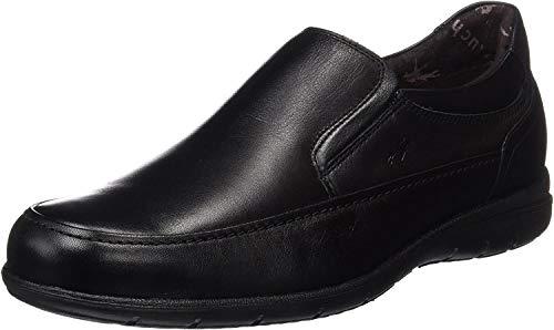 Fluchos- retail ES Spain 8499, Zapatos sin Cordones Hombre, Negro (Black), 43 EU