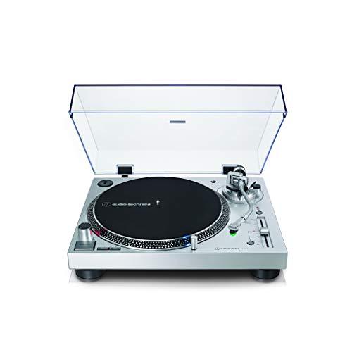 Audio-Technica AT-LP120X Giradischi a trasmissione diretta Argento