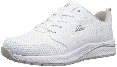 Easy Spirit Women's HUGS Sneaker, White, 8.5 M US
