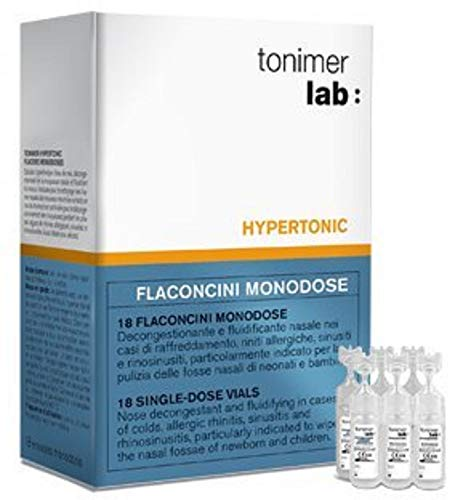 Decongestionante nasale Tonimer-Lab Hyper in monodosi, 18 fiale