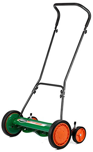Scotts Outdoor Power Tools 2000-20S 20-Inch 5-Blade Classic Push Reel Lawn Mower, Green