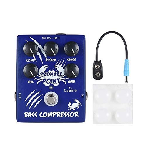 MoreBeauty Caline CP-45 Bass Compressor Bass Effect Pedal Aluminum Alloy With True Bypass - Quarkscm