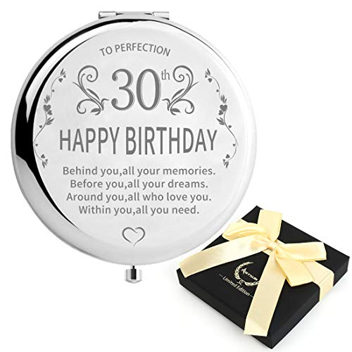 30th Birthday Gifts for Women 1990 Jewelry,SUNNYPLUS Best birthday gift ideas for wife Personalized 30 40 50 60years old Unigue present for sister 1980 1970 1960