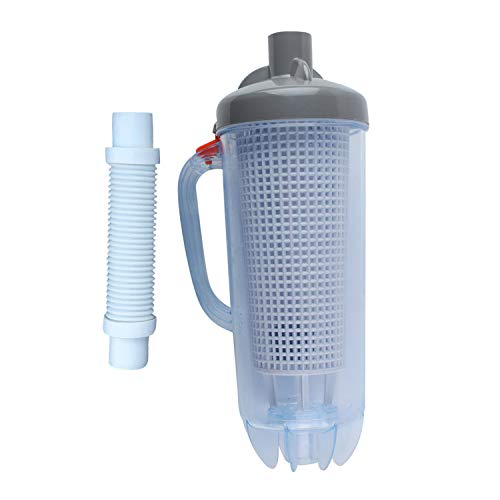 in-line Swimming Pool Leaf Canister Automatic Vacuum Suction Swimming Pool Cleaners with Mesh Basket for Hayward, Zodiac Baracuda, Pentair