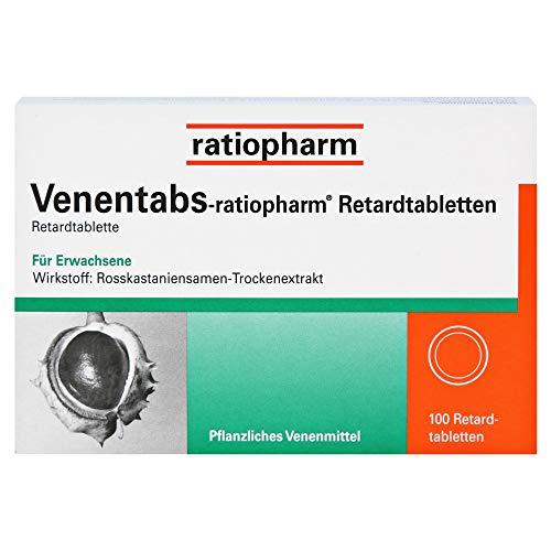 Venentabs-ratiopharm Retardtabletten, 100 St. Tabletten