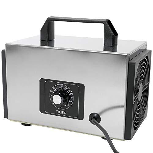 KKmoon Generatore di Ozono Ozonizzatore del Purificatore Aria con Macchina Ozonizzatore Sterilizzatore del Temporizzatore 220V 20G