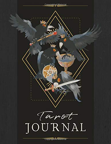 Crows Cover Design Tarot Journal: A Daily Reading Tracker...