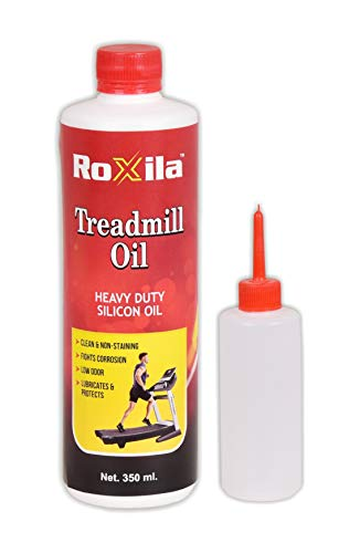 Roxila Treadmill Lubricant Oil for Belt/Silicone Oil/High Viscosity/ 350 ML + Oil Dispenser