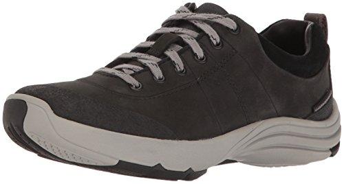 Clarks Women's Wave Andes Walking Shoe, Black Nubuck, 9 M US