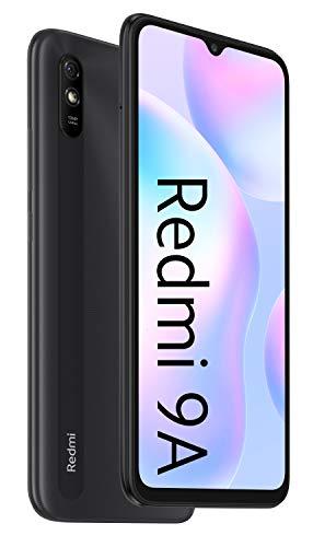 """Xiaomi Redmi 9A - Smartphone 2GB 32GB, Pantalla HD de 6.53"""",MediaTek Helio G25, batería 5000mAh, Cámara Trasera de 13MP Al, Gris [Versión ES/PT]"""