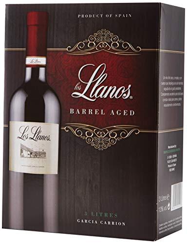 Señorío de los Llanos Tempranillo - Vino Tinto - Bag in Box de 3000 ml