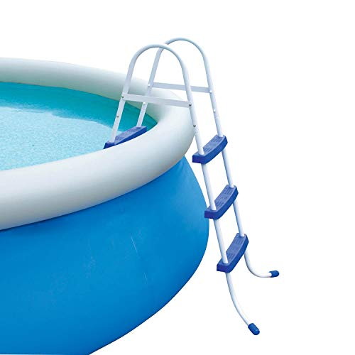 Bestway 58042 Above Ground Pool Ladder,...