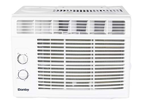Danby 5,000 BTU Window Air Conditioner with two way air direction, White DAC050MB1WDB