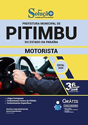 Folleto del concurso Pitimbu PB - Asistente administrativo