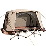 REDCAMP Tent Cots for Camping 1 Person, Waterproof Ultralight Backpacking Tent 3 Season for Outdoor Hiking Mountaineering Travel