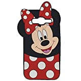 EMF Cute Mouse Case for Galaxy J3 Prime/Galaxy J3 Luna,3D Cartoon Animal Silicone Protective Kawaii Funny Character Cover,Animated Cool Case for Kids Teens Guys(Samsung Galaxy J3 Emerge/J3 2017)