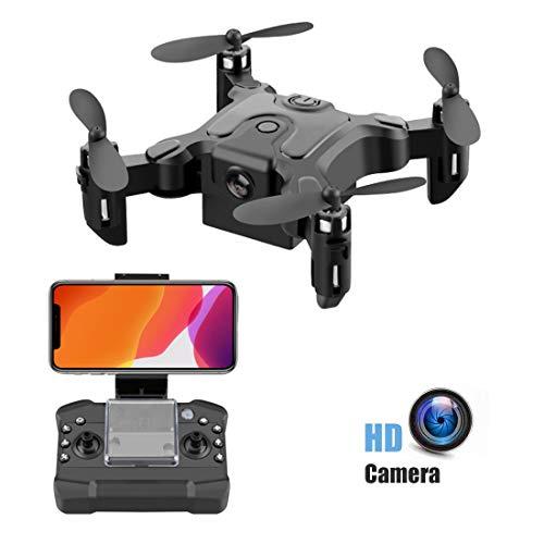 Gutsbox Droni per Bambini con Fotocamera, Feed Video in Tempo Reale WiFi HD 720P. modalit Senza...