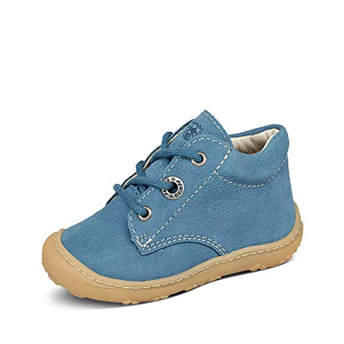RICOSTA Pepino, stivali unisex per bambini Cory, larghezza media (WMS), soletta sciolta, Blu (Jeans blu.), 18 EU