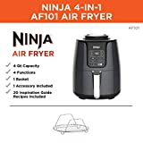 Ninja AF101 Air Fryer that Cooks, Crisps and Dehydrates, with 4 Quart Capacity, and a High Gloss Finish