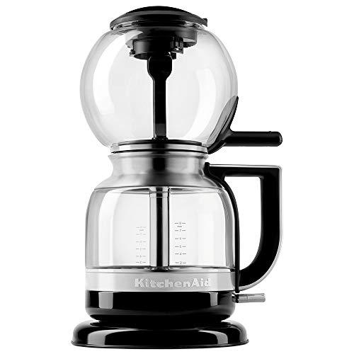 Cafeteira De Sifão Automática Kitchenaid Kitchenaid Onyx Black 1, 18 Litros 110v