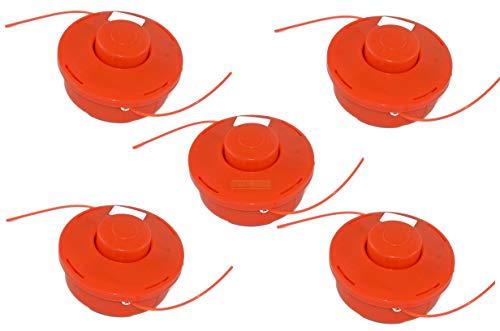 5 bobine di filo con puntamento automatico per decespugliatore Fuxtec, vidaXL, Leader, Monzana,...