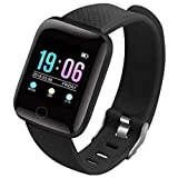 esportic ntelligent Smart Waterproof Activity Tracker   Fitness Band Mobile Phones Steps,Calorie Counter,BP, Heart Rate Monitor Music,Camera Controller Compatible to All Mobile Phones