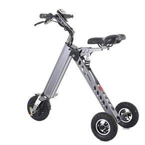 Scooter eléctrico Triciclo plegable con límite de velocidad de 3 velocidades 6-12-20 km / h Carga completa Rango de 30…