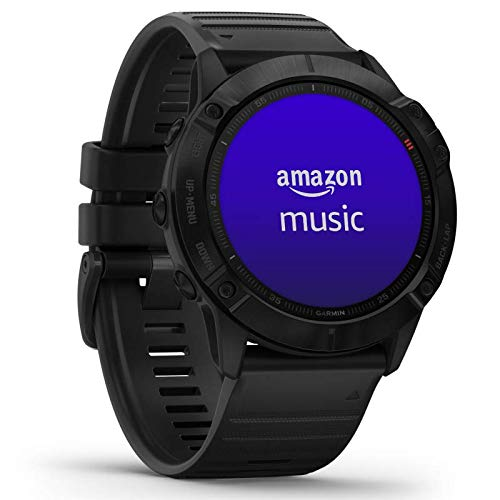 Garmin fenix 6X PRO - GPS-Multisport-Smartwatch mit Sport-Apps, 1,4' Display und Herzfrequenzmessung am Handgelenk. Musikplayer, Karten, WLAN und Garmin Pay. Wasserdicht bis 10 ATM, bis 21 Tage Akku