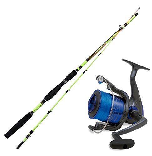 linea-effe Kit Pesca A Squid Canna Seppia EGING Capture 210 + Mulinello SHIZUKA 5000