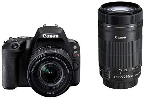 Canon デジタル一眼レフカメラ「EOS Kiss X9」ダブルズームキット (ブラック) EOSKISSX9BK-WKIT