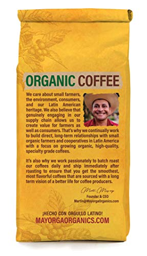 Mayorga Organics Mocha Java, 2lb Bag, Medium Roast Whole Bean Coffee, Specialty-Grade, 100% USDA Organic, Non-GMO Verified, Direct Trade, Kosher 2