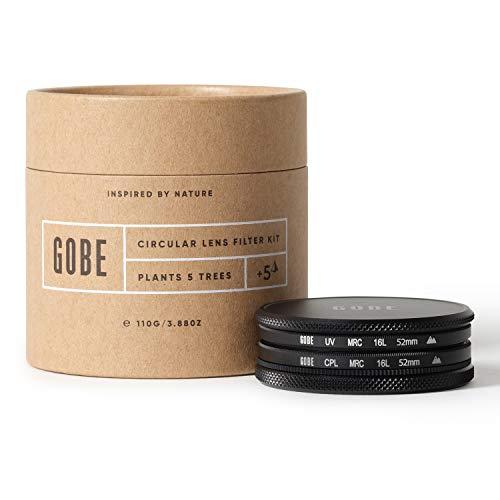 Gobe 52 mm UV Filter + Polfilter (CPL) - Filter Kit (2Peak)