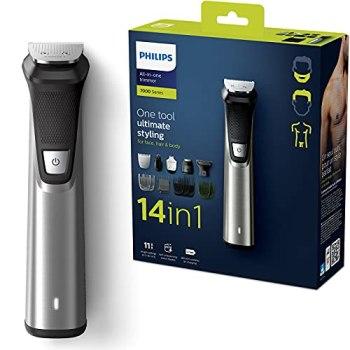 Philips MG7745/15 Tondeuse Cheveux et Multi-Styles Series 7000 14-en-1