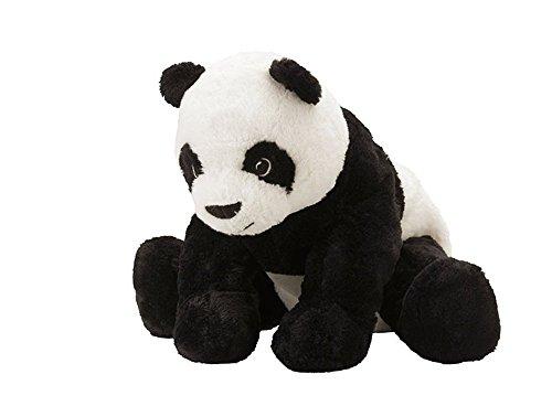 """IKEA Stofftier \""""Kramig Panda\"""" Plüschtier Panda-BÄR - 30cm großer Teddybär - sehr kuschelig - waschbar - SICHERHEITSGETESTET - für Kinder jeglichen Alters"""